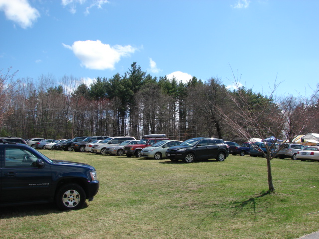 Lots of people showed up for Earth Day